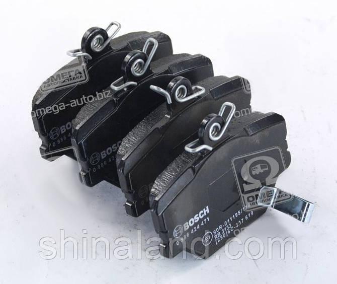 Тормозные колодки дисковые SMART ROADSTER 04- передние (Bosch) OE 0001431V002
