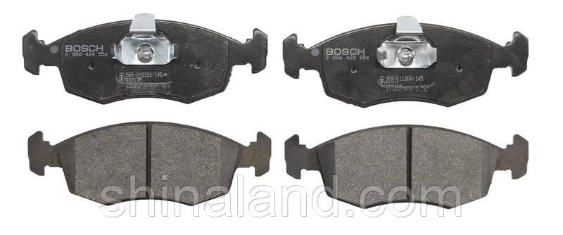 Тормозные колодки дисковые FIAT PALIO/PUNTO передние (Bosch) OE 71738152