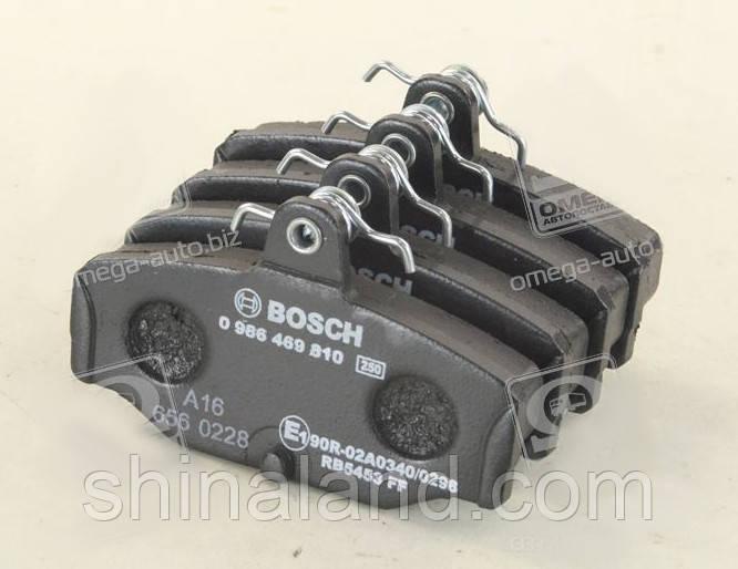 Тормозные колодки дисковые FORD SCORPIO задние (Bosch) OE 1543375