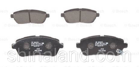Тормозные колодки дисковые передние DAIHATSU MATERIA, SIRION 1.0/1.3/1.5 01.05- Bosch OE 04465B1320