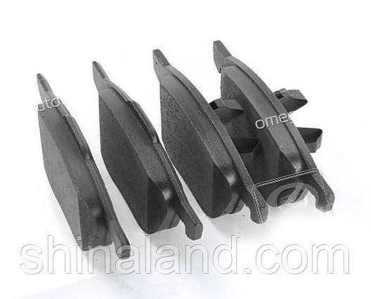 Тормозные колодки дисковые FORD FOCUS, MAZDA 3,5, VOLVO C70, S40, передние (Bosch) OE 1360305