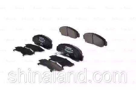 Тормозные колодки дисковые HONDA CIVIC, FR-V передние (Bosch) OE 45022SJFE00