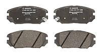 Тормозные колодки дисковые передние HYUNDAI SONATA V; KIA OPIRUS 2.0-3.8 01.05- Bosch OE 581013KA20