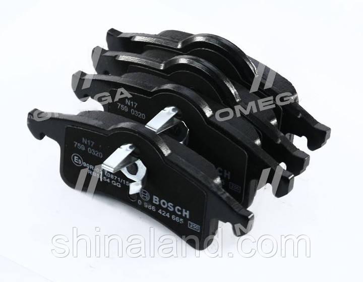 Тормозные колодки дисковые JEEP задние (Bosch) OE 05011970AA
