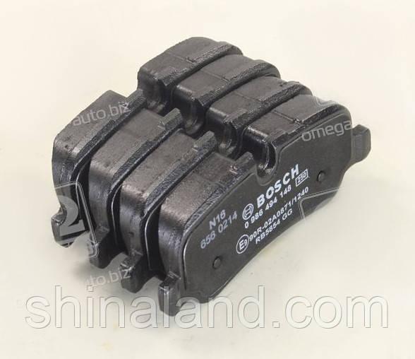 Тормозные колодки дисковые LAND ROVER задние (Bosch) OE LR055455