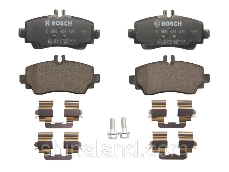 Тормозные колодки дисковые передние Mercedes СЕРИИ A 97- Bosch OE 1684201220