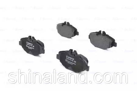Тормозные колодки дисковые MB E-CLASS (W211), E-CLASS KOMBI (S211) передние (Bosch) OE 0034206520