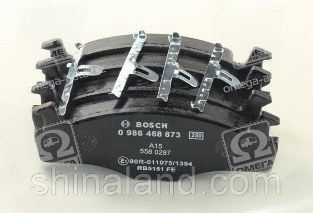 Тормозные колодки дисковые SEAT CORDOBA (6K2/C2), IBIZA II (6K1), VW CADDY I передние (Bosch) OE 1H0698151