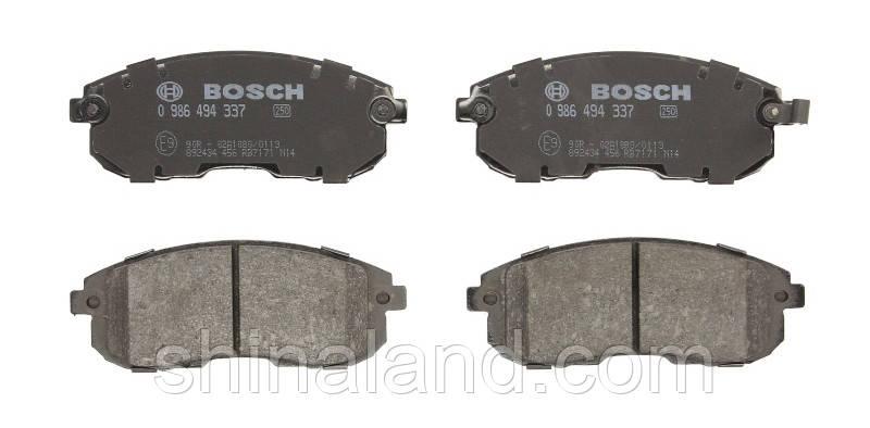 Тормозные колодки дисковые передние NISSAN ALTIMA; SUZUKI SX4 1.6/3.5 06.06- Bosch OE D1060EM10A