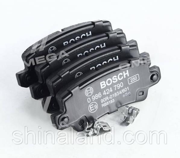Тормозные колодки дисковые TOYOTA COROLLA задние (Bosch) OE 0446602020