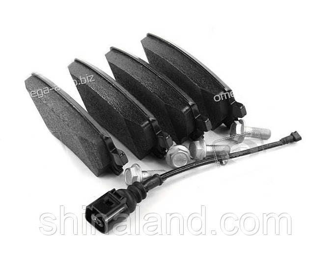 Тормозные колодки дисковые VW T5 (7HM), T5 (7HB, 7HJ) задние (Bosch) OE 7H0698451