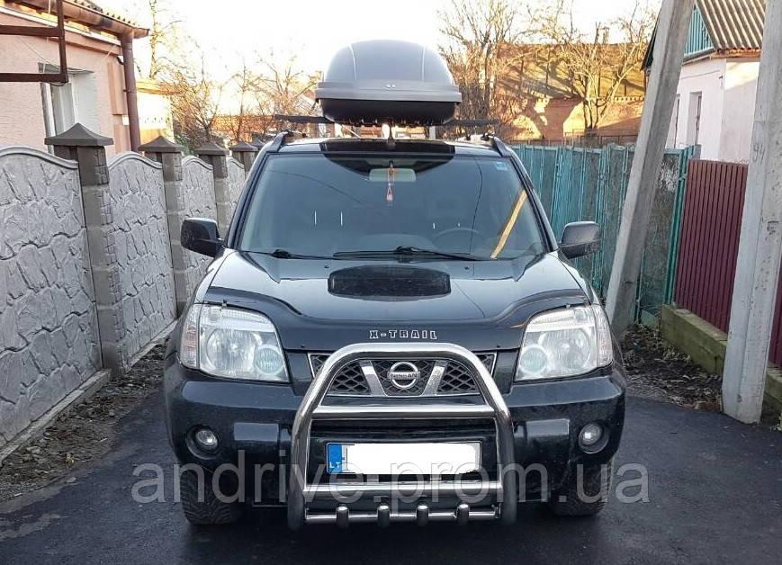 Кенгурятник высокий (защита переднего бампера) Nissan X-Trail T30 2000-2007