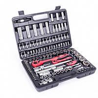 Профессиональный набор инструментов 1-2 дюйма и 1-4 дюйма, 108 ед. INTERTOOL ET-6108