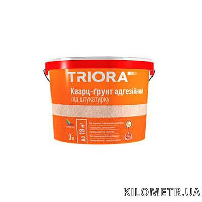Кварц-грунт під штукатурку TRIORA 10л