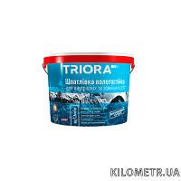 Шпаклівка вологостійка акрилова  TRIORA 1,5кг
