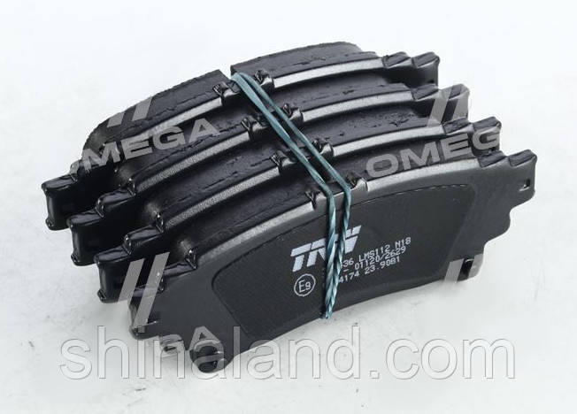 Тормозные колодки дисковые TOYOTA RX350, RX450H 10- задние (TRW) OE 044660E010