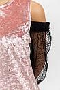 Платье женское 115R901F цвет Пудровый, фото 2