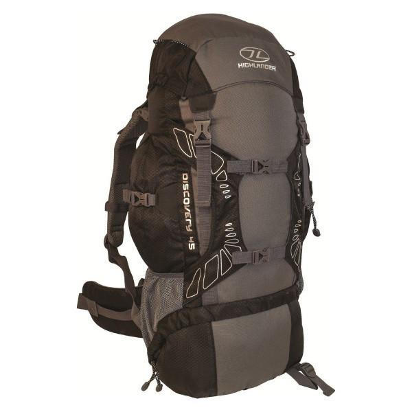 Рюкзак туристичний Highlander Discovery 45 Black