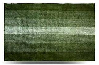 Килимок для ванної 60x90 см зелений Махрамат Dariana D-5173