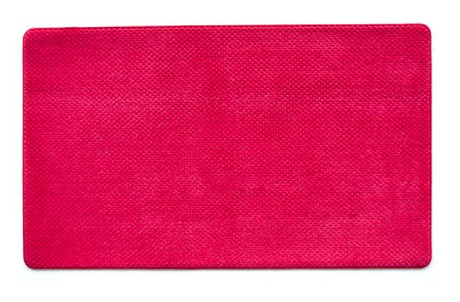 Коврик для ванной 45х75 см красный Ананас Dariana D-6173, фото 2