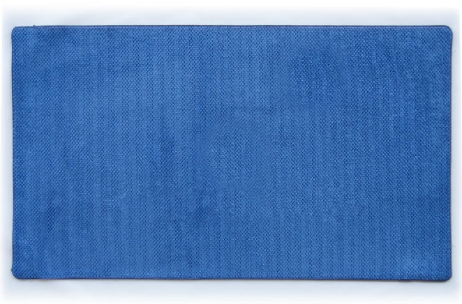 Коврик для ванной 68х120 см синий Ананас Dariana D-6186