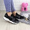 Жіночі стильні кросівки Fashion Peggy 1095 37 розмір 24 см Чорний, фото 2