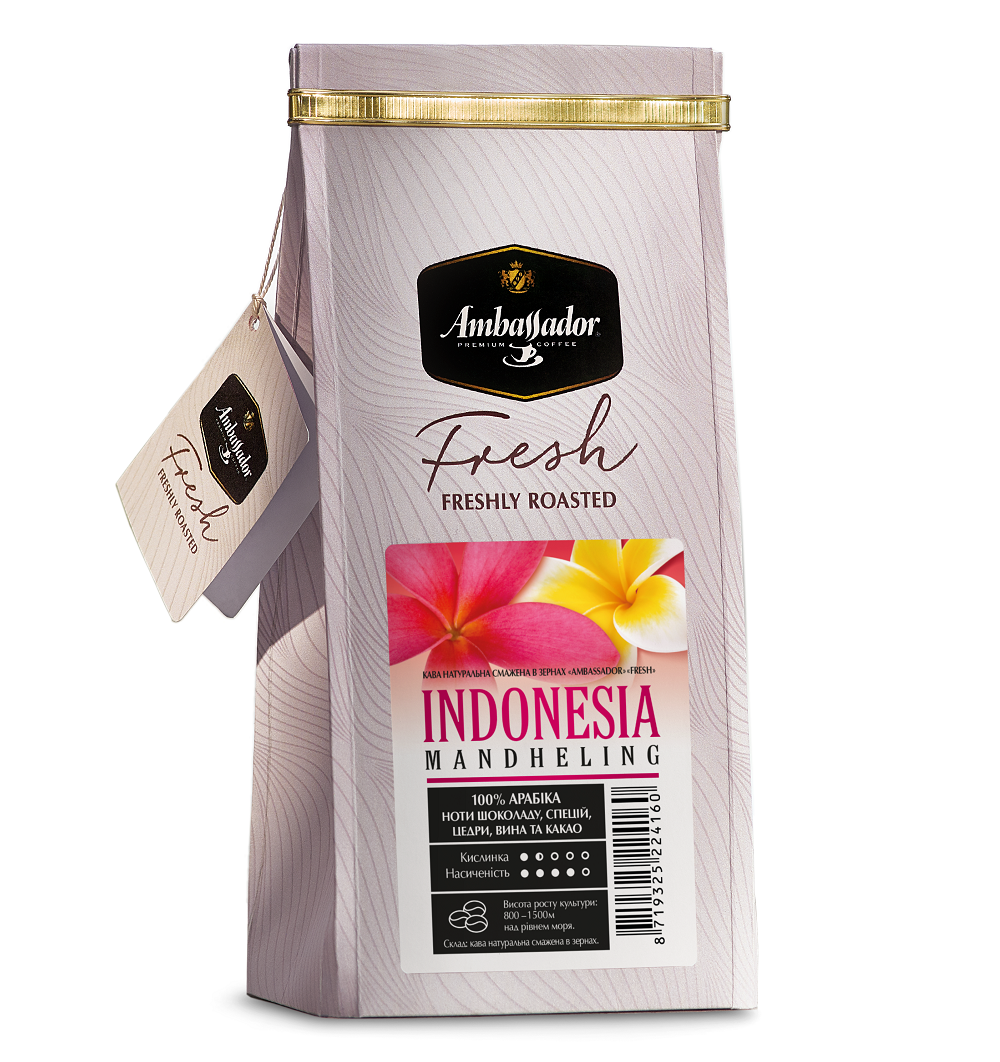 Кофе в зернах Indonesia Mandheling 1000 г