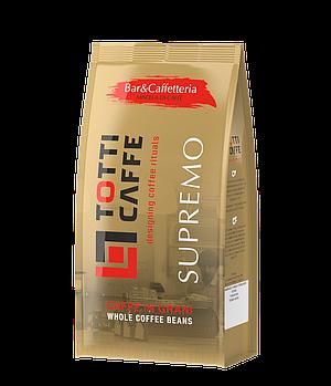 Кава в зернах TOTTI Cafe SUPREMO, пакет 1000г
