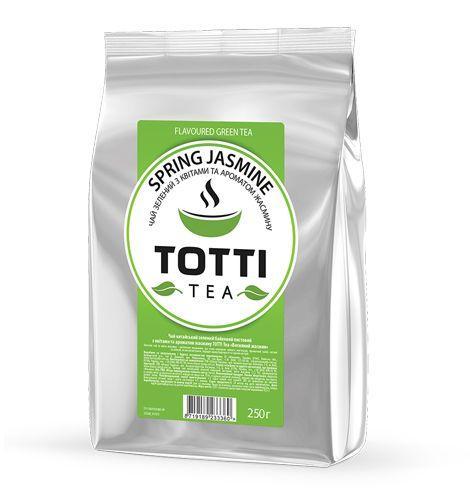 """Чай зелений ТОТТІ Tea """"Весняний жасмин"""", листовий, 250г"""