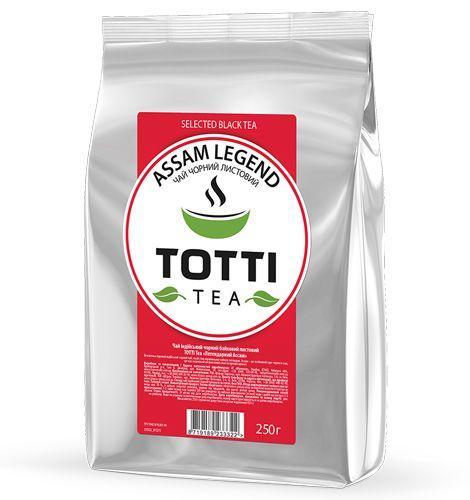 "Чай чорний TОТТІ Tea ""Легендарний Ассам"", листовий, 250г"