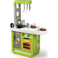 Smoby Интерактивная детская игровая кухня зеленая 310909 Cherry Tefal Kitchen