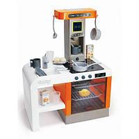 Smoby Интерактивная детская игровая кухня шеф оранжевая 311407 Chef Tefal Kitchen
