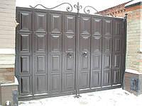 Ворота распашные ТМ Каскад, фото 1