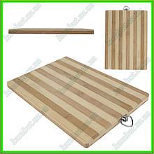 Доска разделочная бамбук 16 см*26 см толщина1,8 см
