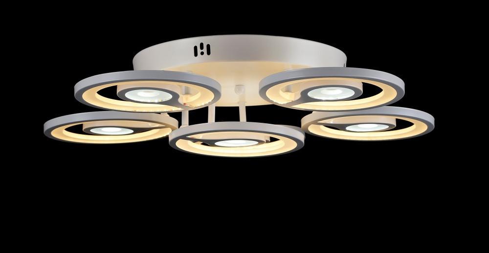 Светодиодная люстра LK17/6 LED (WT)