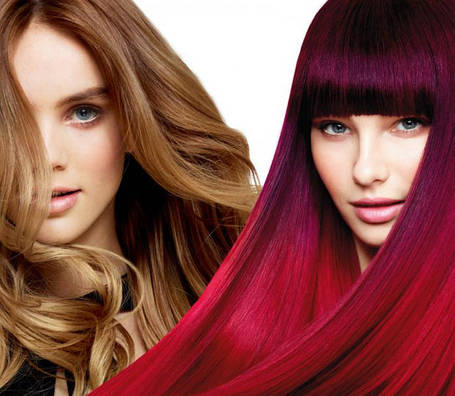 Средства для окрашивания и осветления волос