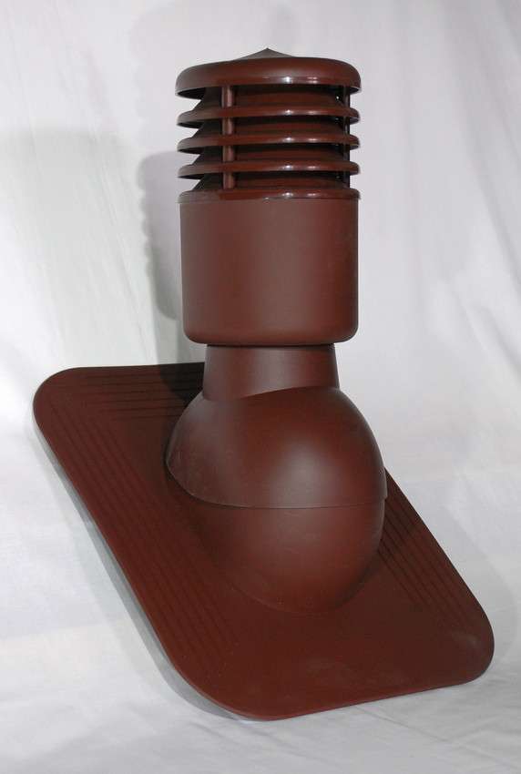 Вентиляционный выход утепленный Kronoplast KPGO для битумной черепицы с колпаком