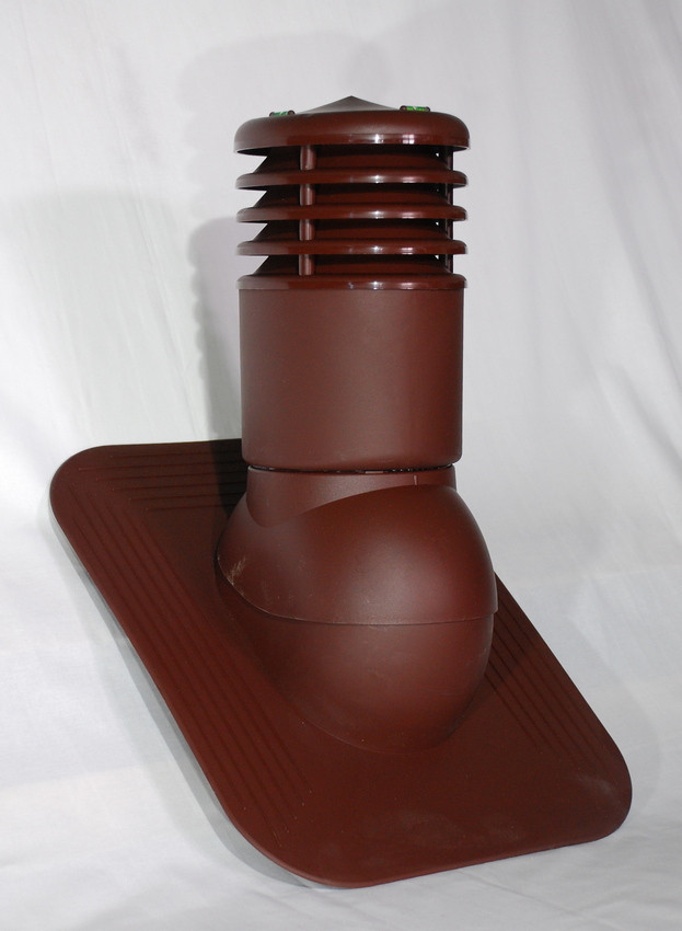 Вентиляционный выход утепленный 150 мм Kronoplast KPGO для битумной черепицы с колпаком