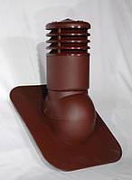 Вентиляционный выход утепленный 150 мм Kronoplast KPGO для битумной черепицы с колпаком, фото 1