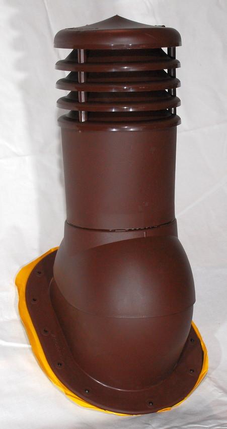 Вент выход Kronoplast KPI 150 мм для плоской кровли с колпаком