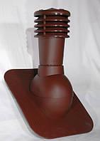 Вентиляционный выход Kronoplast KPG для битумной черепицы с колпаком Коричневый