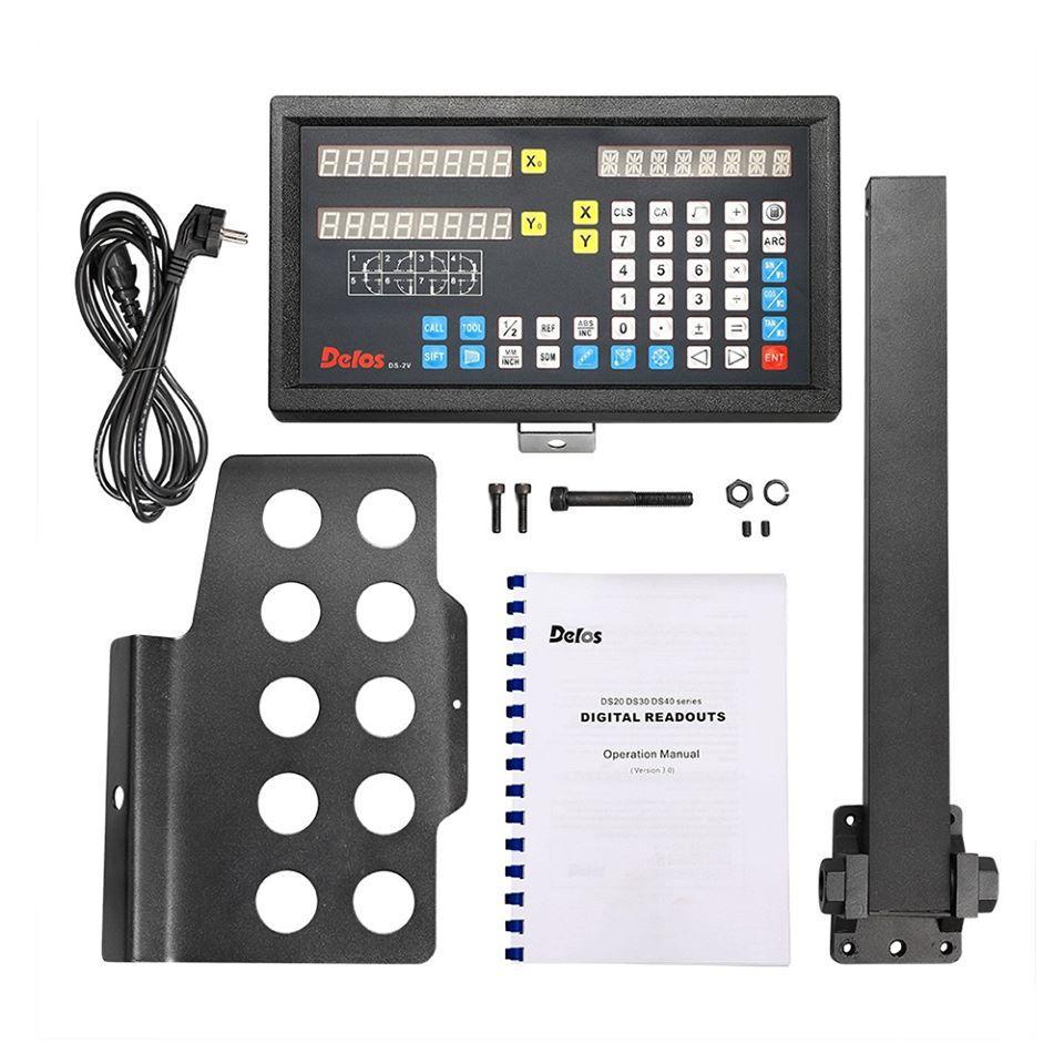 Устройство цифровой индикации Delos 2 оси 5 вольт LED дисплей DS20-2V