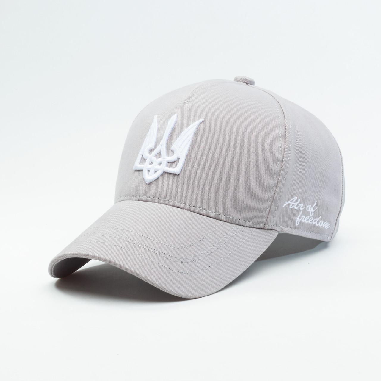 Купить Кепка бейсболка мужская INAL air of freedom S / 53-54 RU Серый 37453