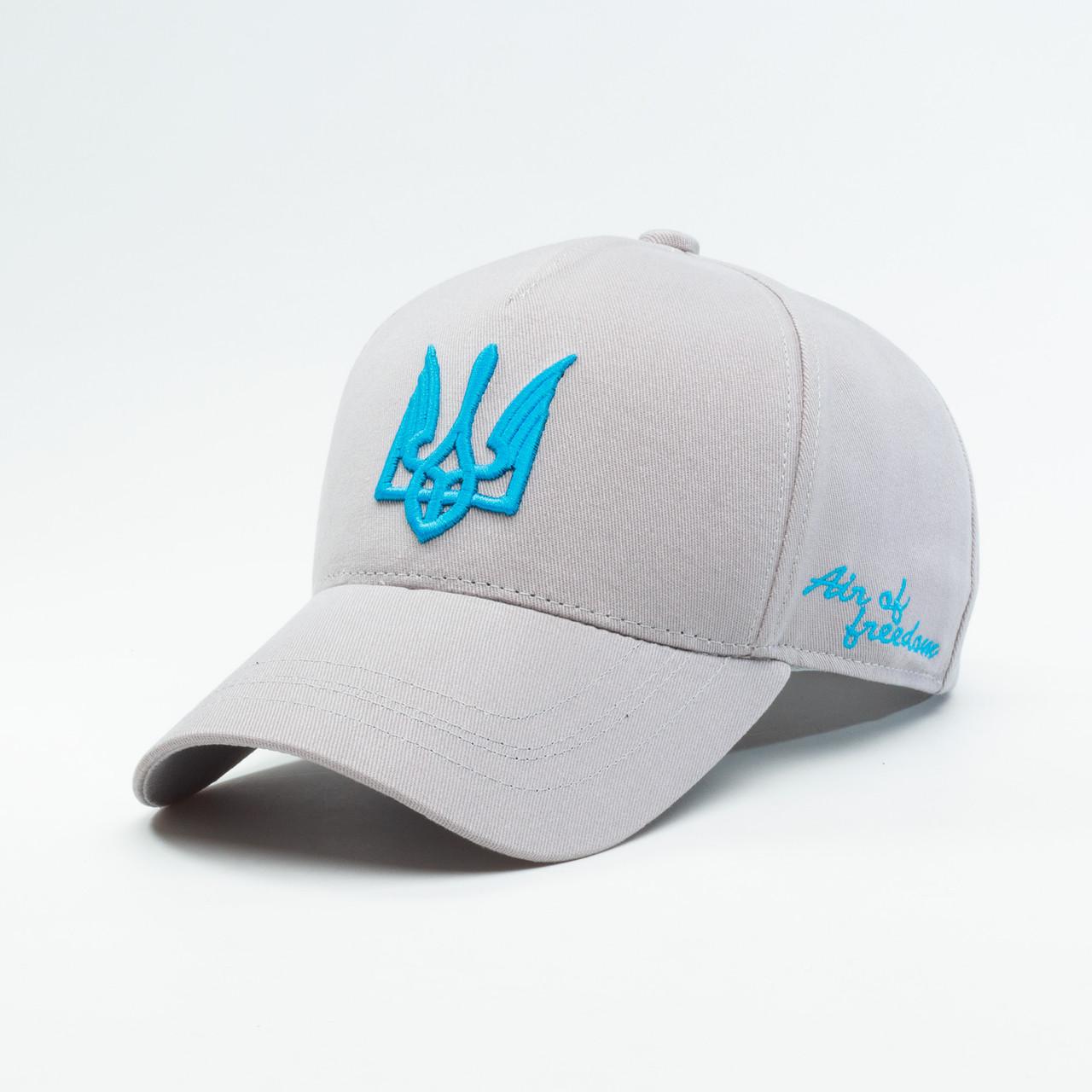 Купить Кепка бейсболка мужская INAL air of freedom XL / 59-60 RU Серый 37559