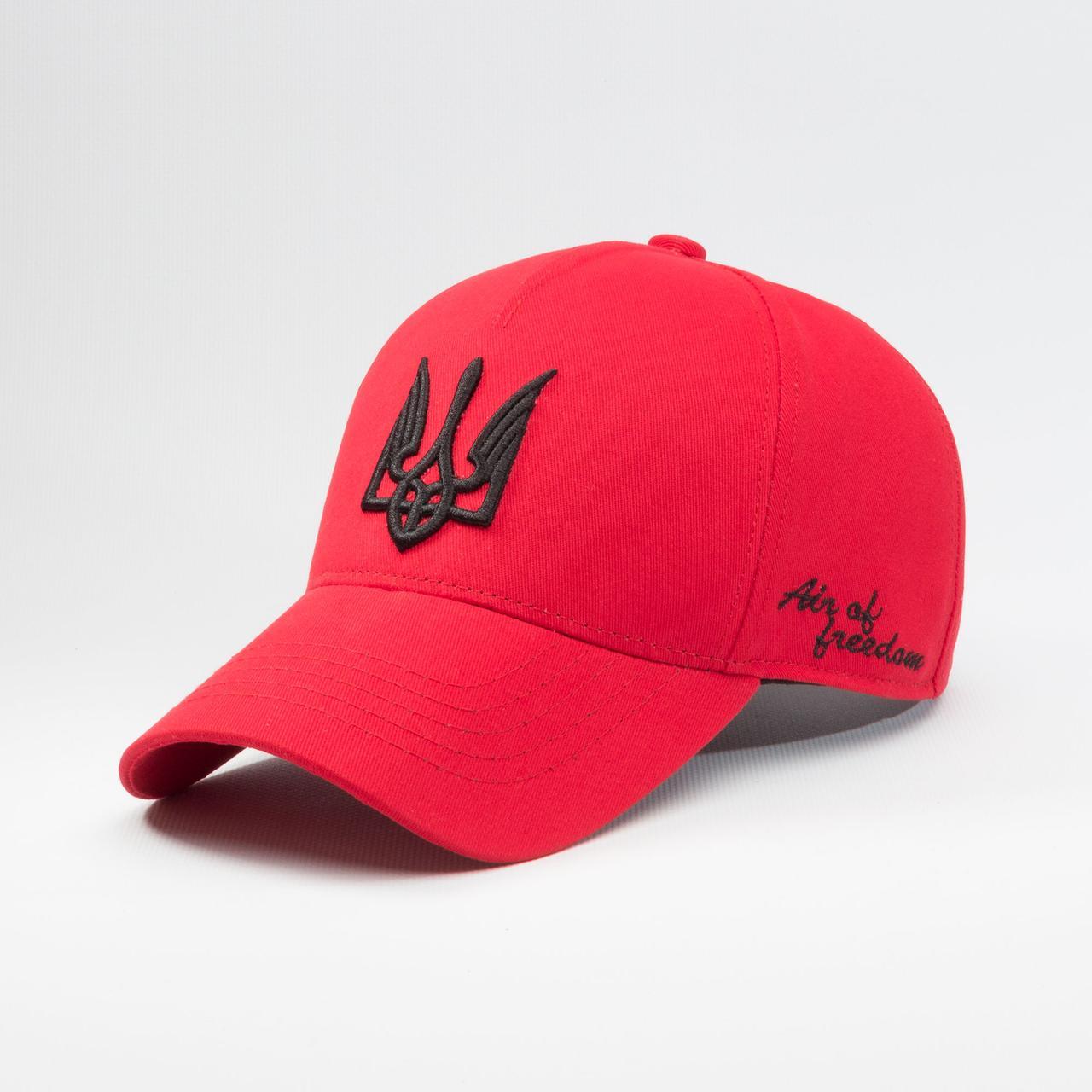 Купить Кепка бейсболка мужская INAL air of freedom S / 53-54 RU Красный 209753