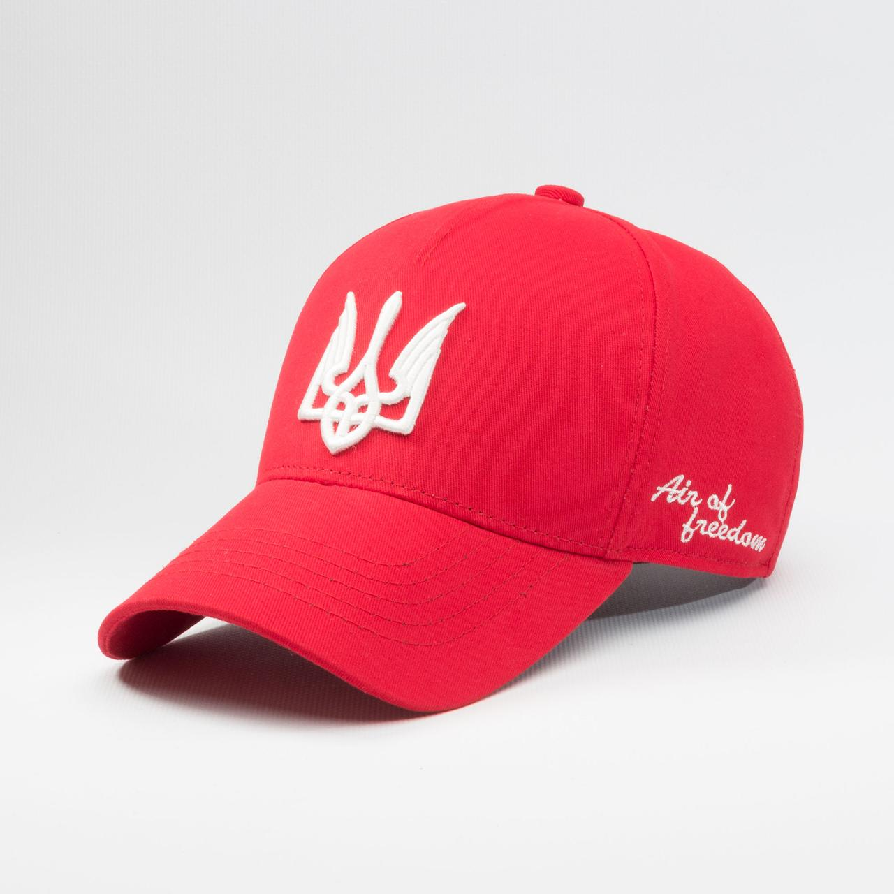 Кепка бейсболка мужская INAL air of freedom S / 53-54 RU Красный 209953  - купить со скидкой