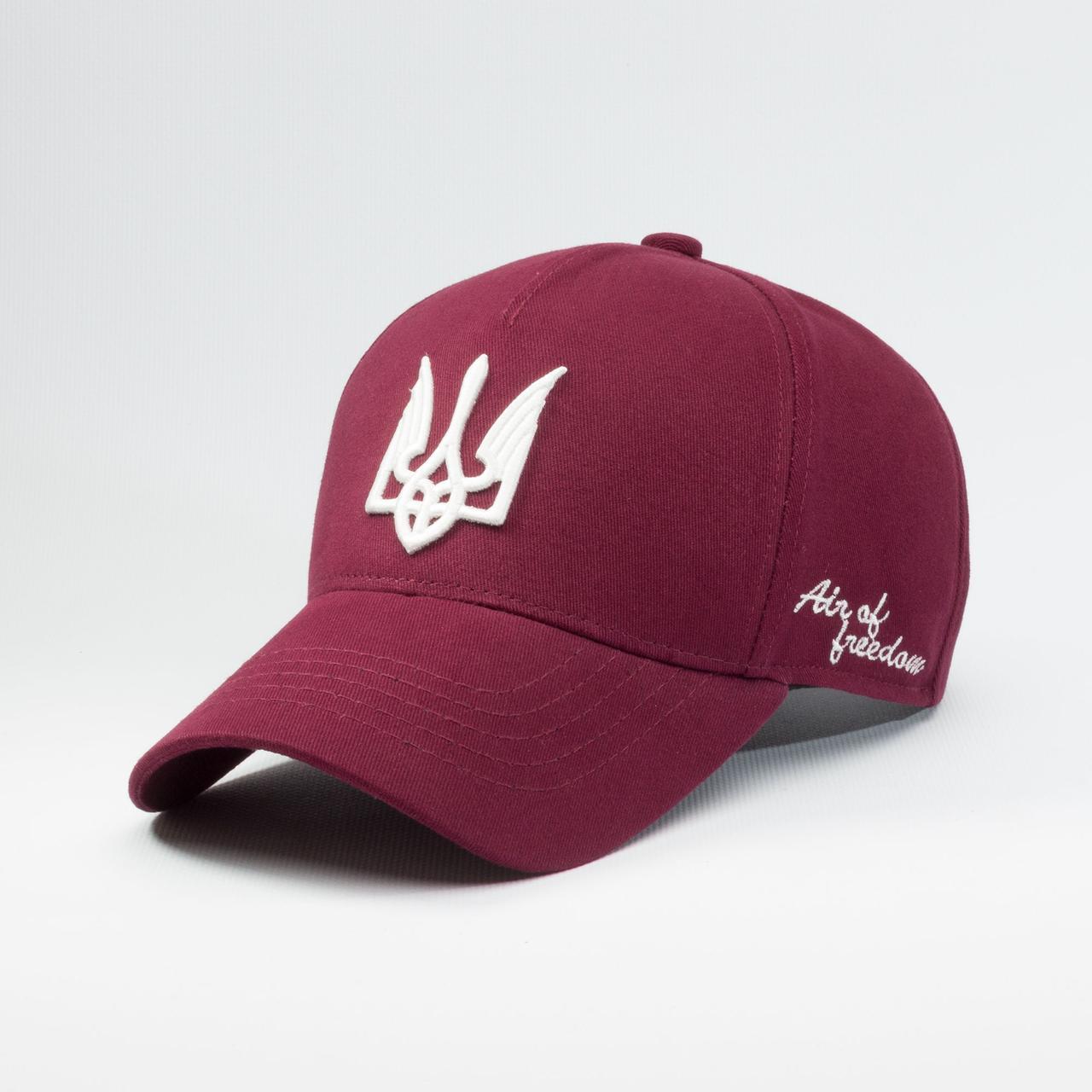Купить Кепка бейсболка мужская INAL air of freedom XL / 59-60 RU Бордовый 210559