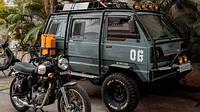 Индийские умельцы построили маленький боевой фургон Suzuki Gymni
