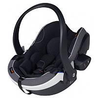 Детское автокресло для новорожденного BeSafe iZi Go Modular X-1 iSize Midnight Black Melenge Черное (11008150-MidBlackM) (7072754004019)
