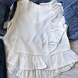 Летний джинсовый костюм на девочку 28. Размер 92 см, 98 см, 104 см, фото 3